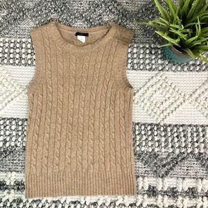 J Crew wool blend vest